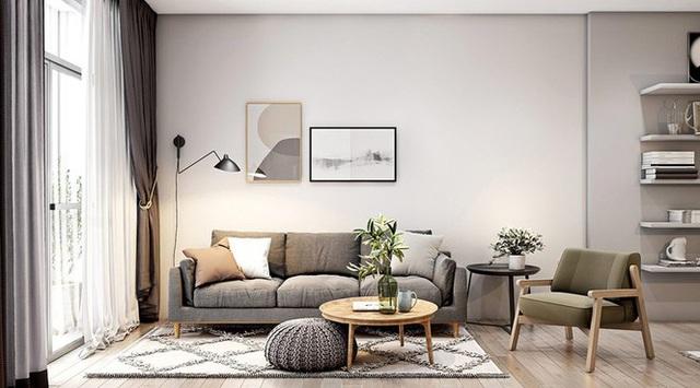Căn hộ 30m2 có nội thất đơn giản nhưng vô cùng sang trọng - Ảnh 1.
