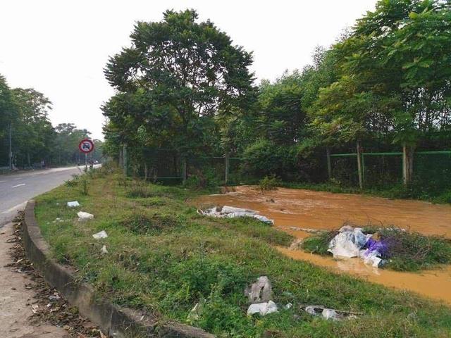 Đường ống nước sạch sông Đà lại vỡ, Viwasupco ngừng cấp nước tối nay  - Ảnh 1.