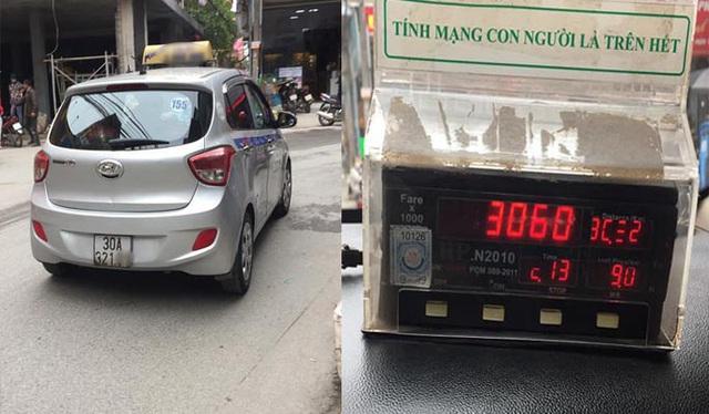 Đuổi việc tài xế taxi chặt chém khách Tây 3 triệu đồng cho quãng đường 17km - Ảnh 1.