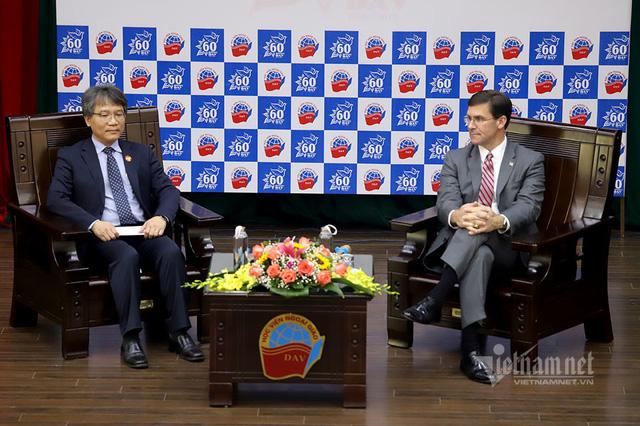 Bộ trưởng Quốc phòng Mỹ dẫn chuyện Hai Bà Trưng, ngưỡng mộ tinh thần tự cường Việt Nam - Ảnh 3.
