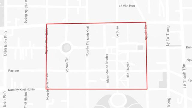 TP.HCM cấm nhiều tuyến đường ở trung tâm vào sáng 23 và 24-11  - Ảnh 1.