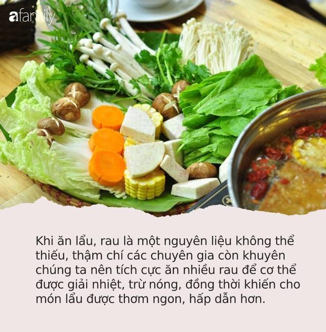 Ăn lẩu vào ngày lạnh nên tránh nhúng những loại rau này vì có thể sản sinh độc tố gây nguy hại cho sức khỏe - Ảnh 1.