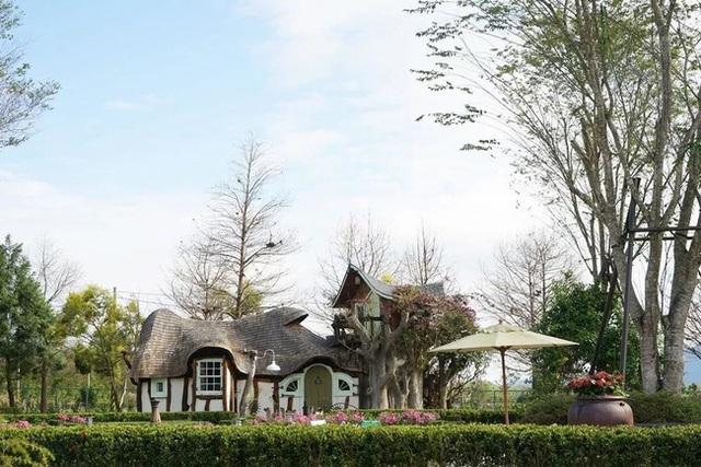 Người phụ nữ 60 tuổi dùng khoản tiền tiết kiệm trong 12 năm để mua đất, xây ngôi nhà cổ tích an hưởng tuổi già cùng người thân - Ảnh 5.
