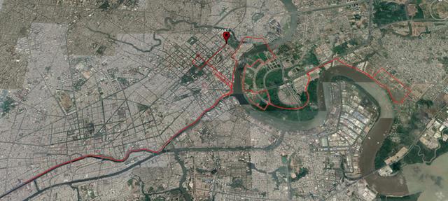 Cấm xe nhiều tuyến đường khu trung tâm TPHCM  - Ảnh 2.