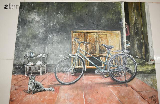 Cậu bé tự kỷ 14 tuổi mê tranh Van Gogh với bức tranh được đấu giá trăm triệu: Con sẽ trở thành họa sĩ nổi tiếng, sẽ mua nhà và cho mẹ đi du lịch - Ảnh 8.