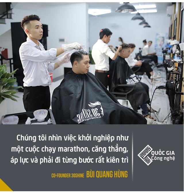 """Đồng sáng lập chuỗi """"cắt tóc công nghệ"""" 30Shine: """"Công nghệ quan trọng, nhưng không phải là phép màu"""" - Ảnh 6."""