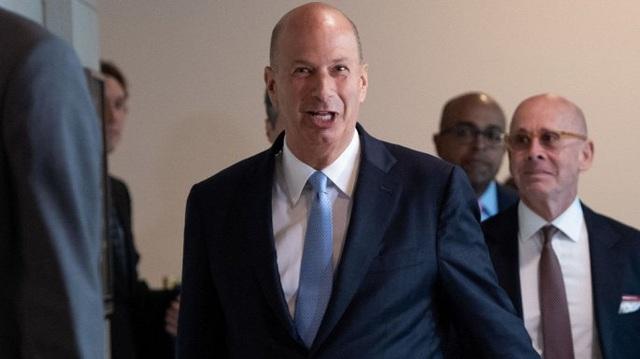Luận tội Tổng thống Mỹ: Đại sứ Mỹ tại EU thay đổi lời khai - Ảnh 1.