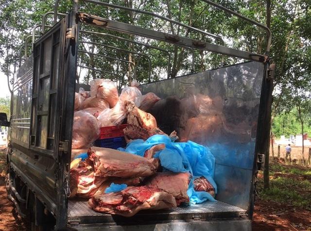 Hơn 1,5 tấn thịt dính tả lợn Châu Phi giấu trong kho lạnh - Ảnh 3.