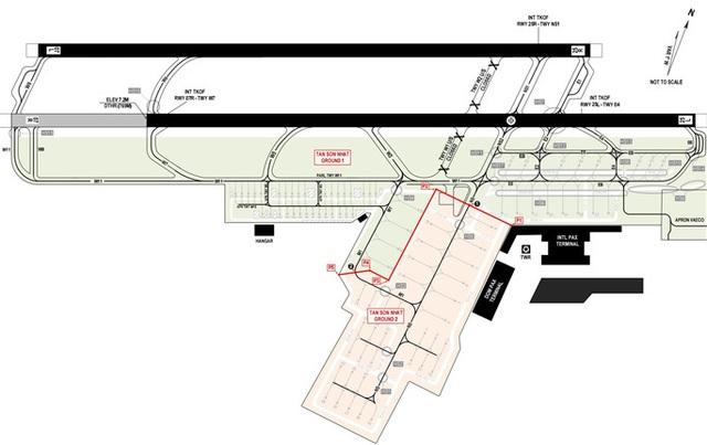 Từ sáng nay 7-11, chia Tân Sơn Nhất thành 2 phân khu điều hành bay riêng biệt  - Ảnh 1.