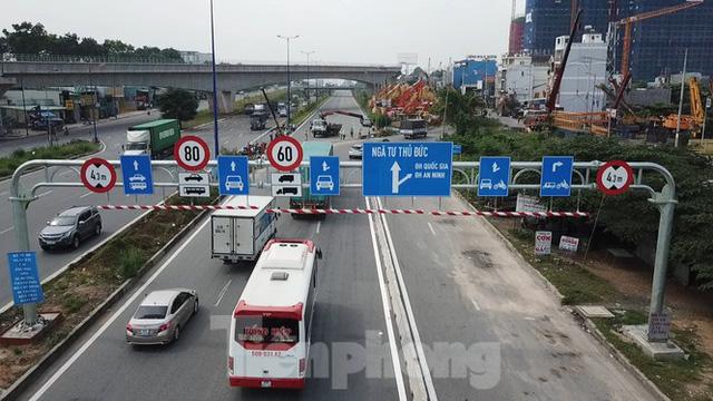 Nhìn từ trên cao nút giao thông cửa ngõ phía Đông Sài Gòn vừa thông xe - Ảnh 2.