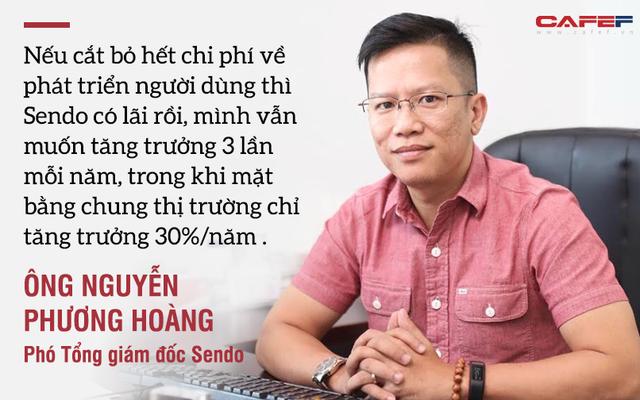 Phó Tổng giám đốc Sendo: Chúng tôi tăng trưởng gấp 3 một năm, nếu cắt bỏ hết chi phí về phát triển người dùng thì Sendo có lãi rồi - Ảnh 3.