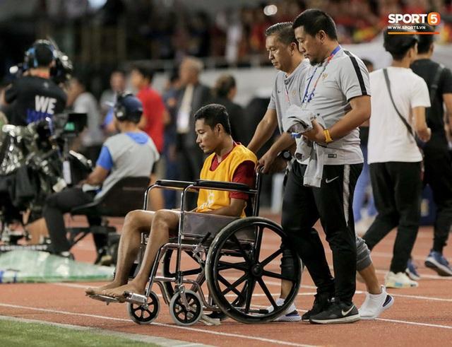 Sao Indonesia phải ngồi xe lăn sau pha va chạm với Văn Hậu: Tôi đã nhận được lời xin lỗi và tha thứ cho cậu ấy - Ảnh 3.