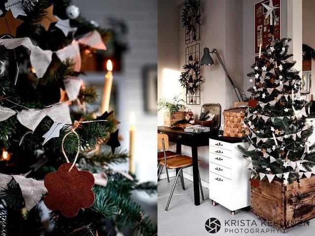 Đón Noel siêu ấm áp với những kiểu trang trí cực đơn giản - Ảnh 1.