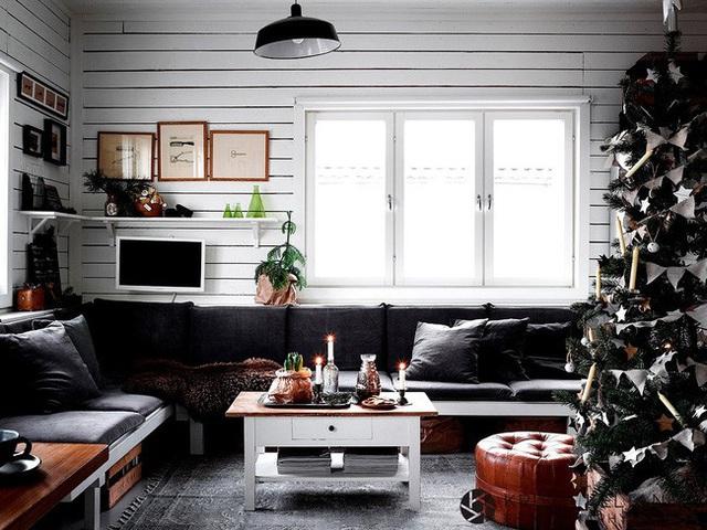 Đón Noel siêu ấm áp với những kiểu trang trí cực đơn giản - Ảnh 2.