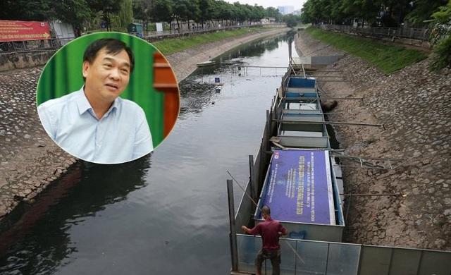 Nói kết quả thí điểm làm sạch sông Tô Lịch thất bại, GĐ Sở Xây dựng Hà Nội bị phản đối gay gắt - Ảnh 1.