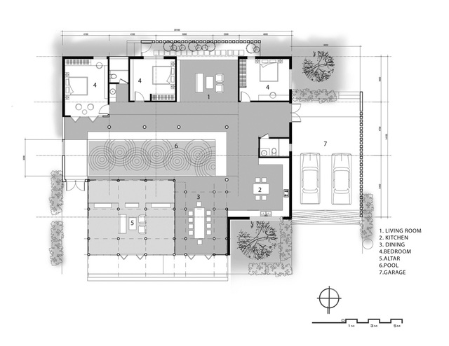 Sau phục dựng, ngôi nhà truyền thống ở Củ Chi được so sánh với ốc đảo - Ảnh 14.