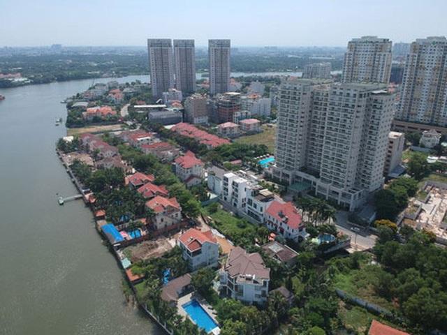 Tổng kiểm tra việc lấn chiếm sông Sài Gòn - Ảnh 1.