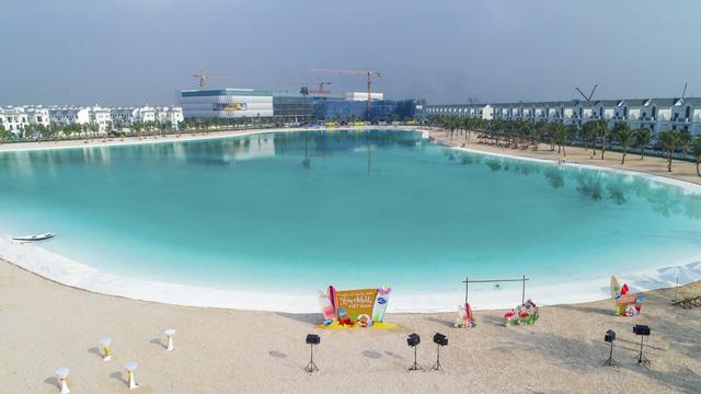 Cận cảnh khu đô thị tại Hà Nội có biển hồ nước mặn và hồ nước ngọt nhân tạo trải cát trắng lớn nhất thế giới - Ảnh 17.
