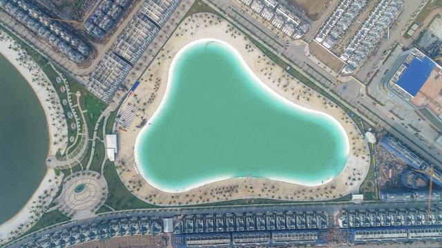Cận cảnh khu đô thị tại Hà Nội có biển hồ nước mặn và hồ nước ngọt nhân tạo trải cát trắng lớn nhất thế giới - Ảnh 11.
