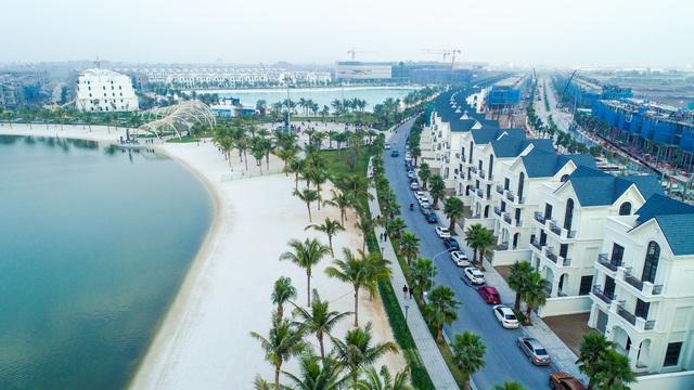 Cận cảnh khu đô thị tại Hà Nội có biển hồ nước mặn và hồ nước ngọt nhân tạo trải cát trắng lớn nhất thế giới - Ảnh 6.