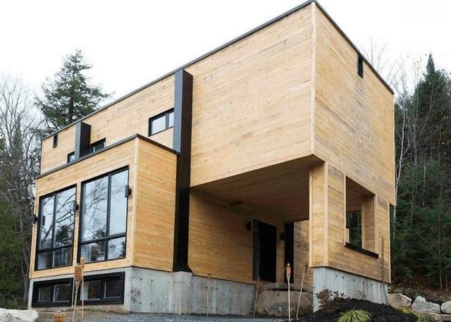 Bất ngờ với ngôi nhà tuyệt đẹp được thiết kế từ 4 chiếc container - Ảnh 1.