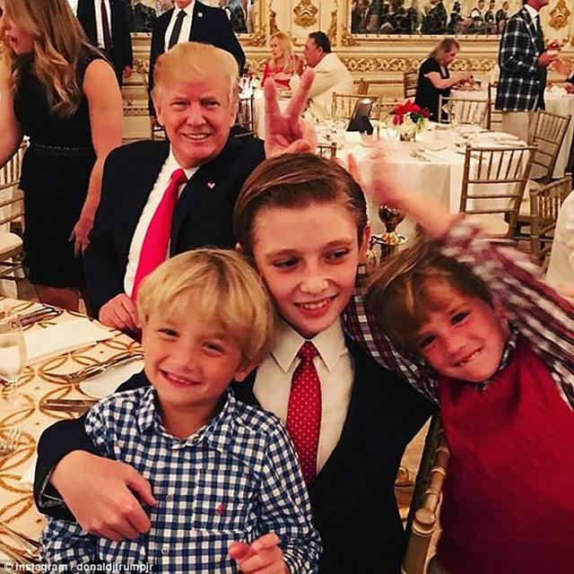 Tiết lộ mới đầy bất ngờ về Barron Trump cho thấy sức mạnh của quý tử Tổng thống Mỹ ở Nhà Trắng - Ảnh 2.