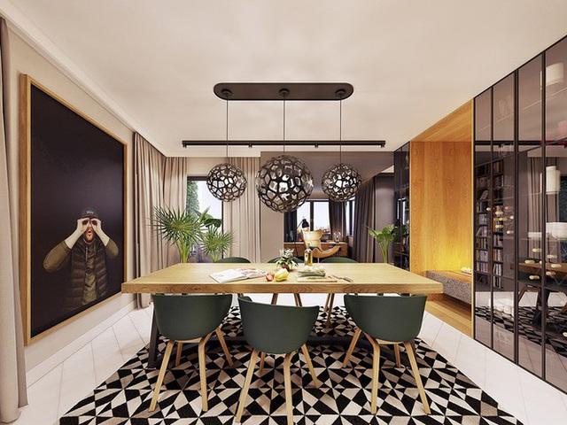 Chiêm ngưỡng căn hộ thiết kế ngẫu hứng đẹp cuốn hút - Ảnh 5.