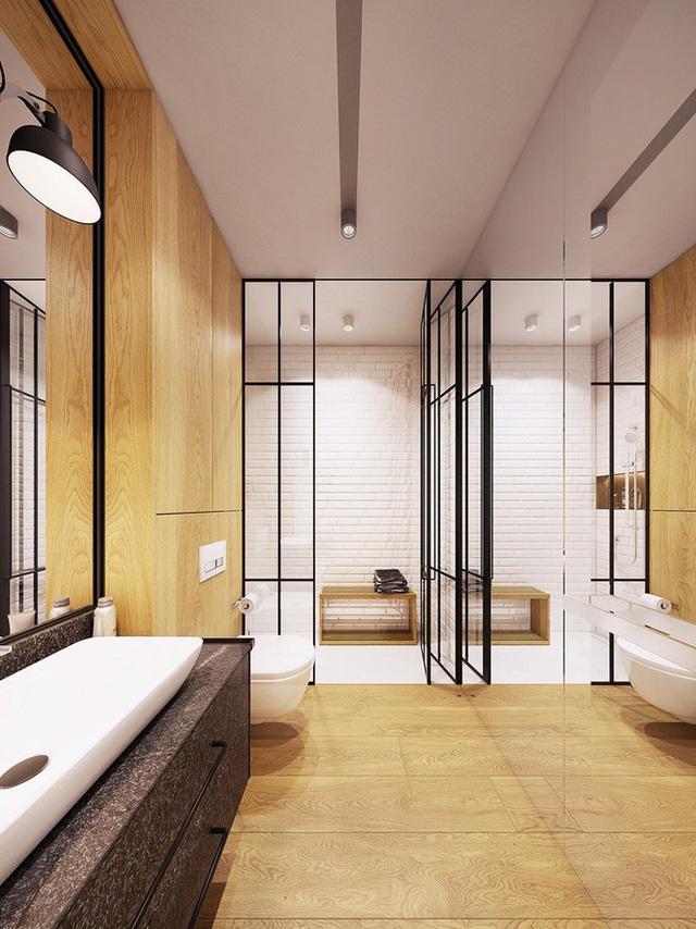 Chiêm ngưỡng căn hộ thiết kế ngẫu hứng đẹp cuốn hút - Ảnh 8.