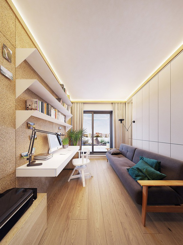 Chiêm ngưỡng căn hộ thiết kế ngẫu hứng đẹp cuốn hút - Ảnh 9.