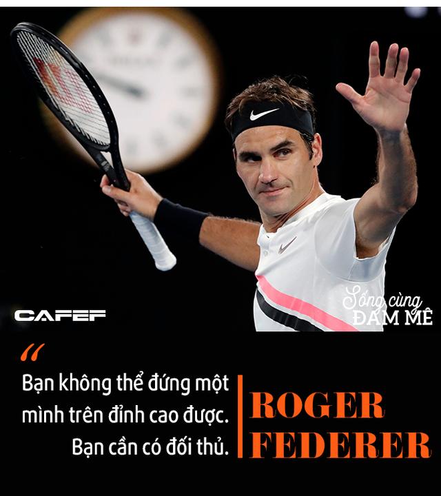 Chuyến tàu tốc hành không hồi kết của Roger Federer: Chiến thắng và trở thành huyền thoại, bất chấp sự hoài nghi, chấn thương và tuổi tác! - Ảnh 7.