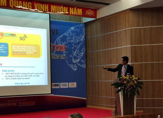 Sếp Cục tần số: Nhiều nước không có băng tần cho 5G, Việt Nam sẽ chọn băng tần nào cho 5G? - Ảnh 2.
