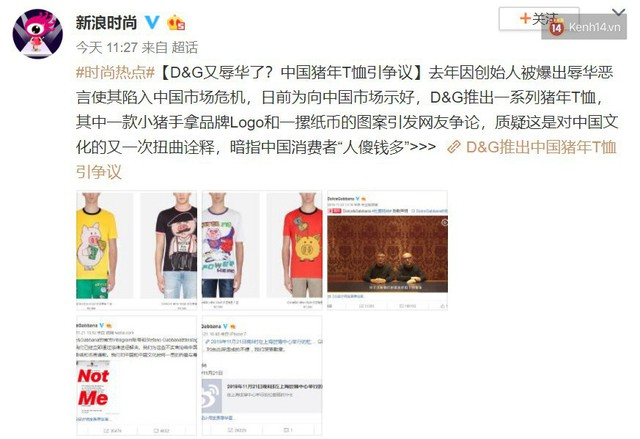 """Trang Sina tự hỏi: """"Ý Dolce & Gabbana là người Trung Quốc giàu có nhưng ngu ngốc?"""" khi hãng ra mắt BST hình heo cầm xấp tiền - Ảnh 3."""