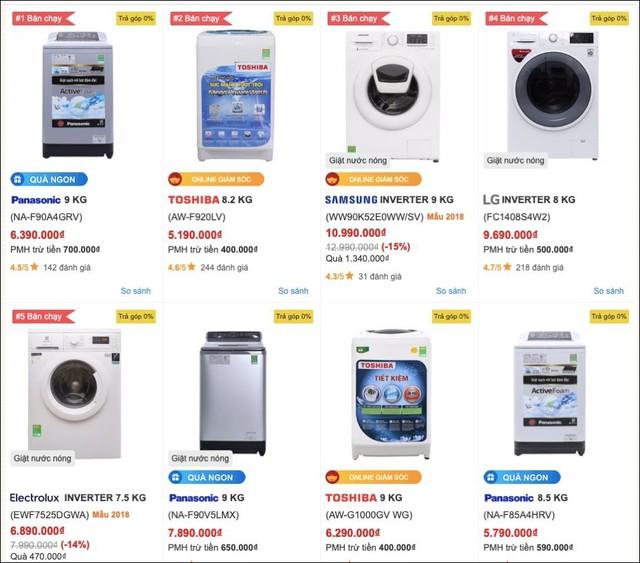 Điện thoại, tivi, tủ lạnh, máy giặt,... đồng loạt giảm giá sau Tết - Ảnh 3.