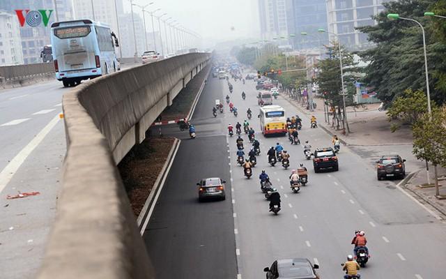 Sau cắt xén, 2 tuyến vành đai của Thủ đô rộng thênh thang sạch đẹp - Ảnh 13.