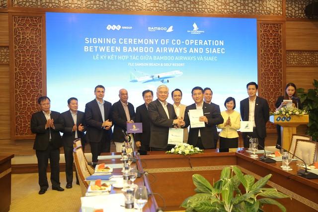 Bamboo Airways hợp tác chiến lược với công ty kỹ thuật hàng không hàng đầu thế giới - Ảnh 3.