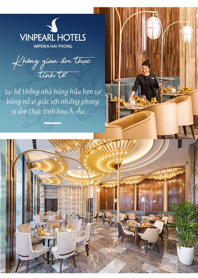 """Vinpearl Hotel Imperia Hải Phòng - Trải nghiệm thượng lưu tại """"ngọn hải đăng"""" mới của thành phố Cảng - Ảnh 9."""