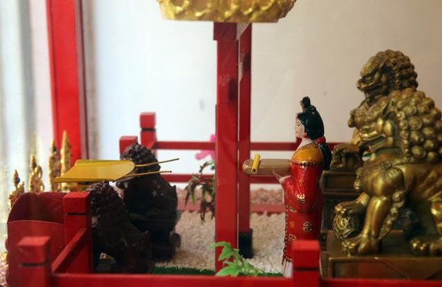 Đầu năm, dân Sài Gòn đội nắng xin quẻ ở máy nhả xăm tự động trong chùa - Ảnh 15.