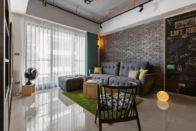 Căn hộ 100 m2 mang phong cách công nghiệp tươi sáng - Ảnh 2.
