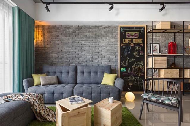 Căn hộ 100 m2 mang phong cách công nghiệp tươi sáng - Ảnh 3.