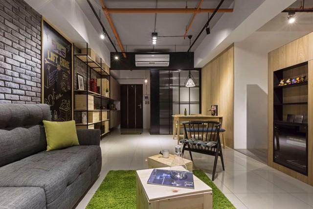Căn hộ 100 m2 mang phong cách công nghiệp tươi sáng - Ảnh 8.