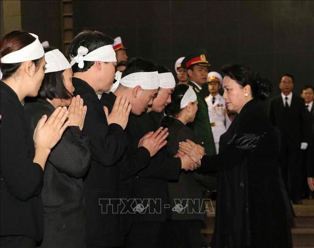 Lễ tang cấp Nhà nước nguyên Phó Chủ tịch Quốc hội Nguyễn Phúc Thanh  - Ảnh 8.