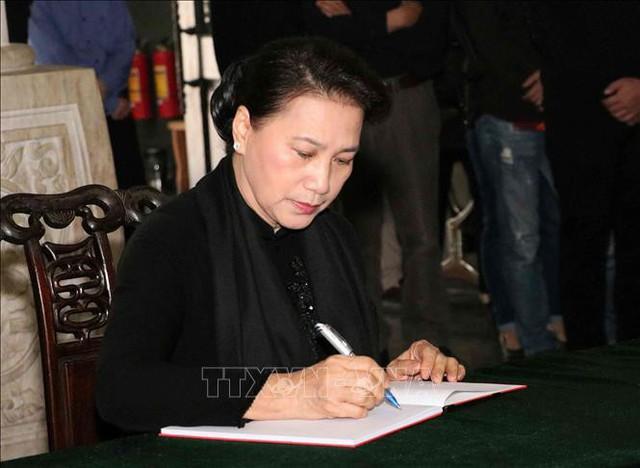 Lễ tang cấp Nhà nước nguyên Phó Chủ tịch Quốc hội Nguyễn Phúc Thanh  - Ảnh 9.