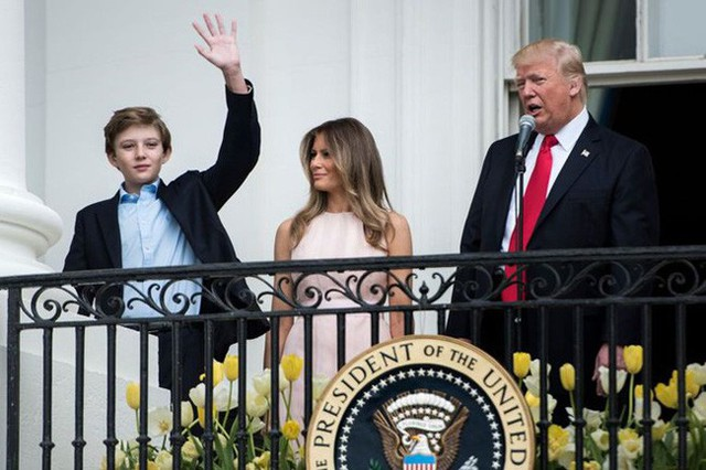 Một loạt điều thú vị ít ai biết về cậu út nhà Trump: Không thích đám đông, đam mê các tòa tháp và chăm dưỡng da - Ảnh 3.