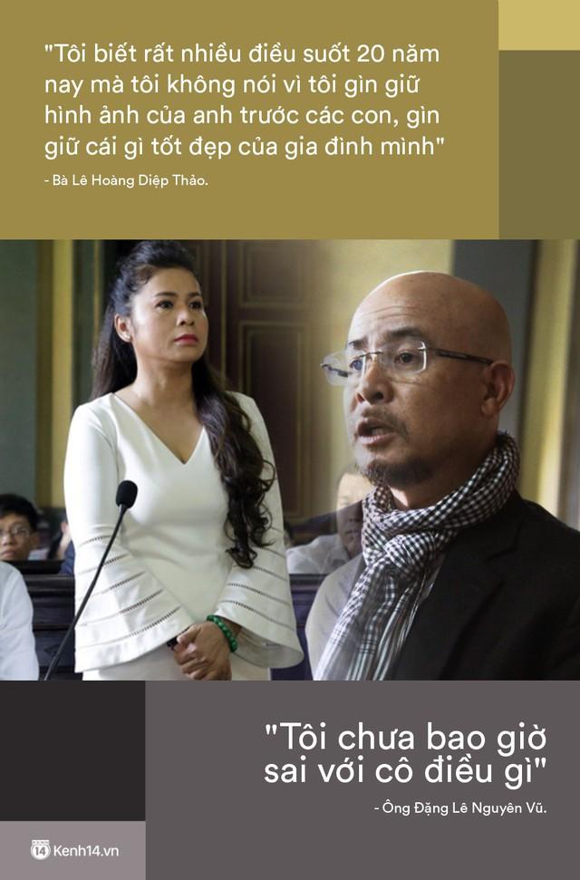 Nhìn lại những lời phản pháo gây bão của vợ chồng vua cà phê Trung Nguyên tại phiên tòa ly hôn - Ảnh 4.