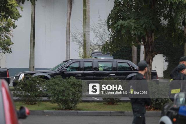 [Nóng] Siêu xe Quái thú của Tổng thống Trump đã tới Hà Nội - Ảnh 7.