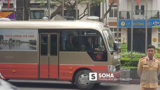 Nhân viên an ninh Triều Tiên tới một khách sạn lớn ở Hà Nội - Ảnh 2.
