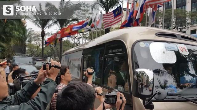 Nhân viên an ninh Triều Tiên tới một khách sạn lớn ở Hà Nội - Ảnh 3.