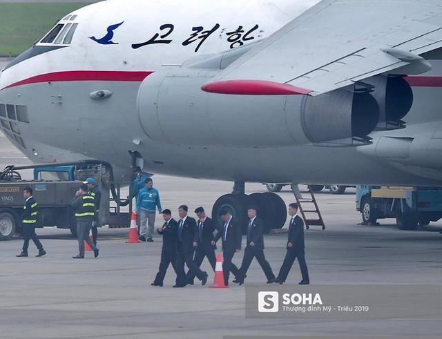 Lực lượng mật vụ tinh nhuệ của ông Kim Jong-un đổ bộ hùng hậu xuống Hà Nội - Ảnh 4.