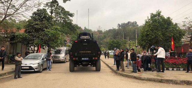 [Ảnh] Xe bọc thép xuất quân, ga Đồng Đăng trải thảm chờ đón Chủ tịch Kim Jong Un - Ảnh 2.