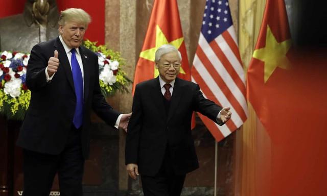 Tổng thống Donald Trump: Việt Nam đang phát triển rất mạnh, Triều Tiên cũng sẽ như vậy, và rất nhanh thôi... - Ảnh 1.